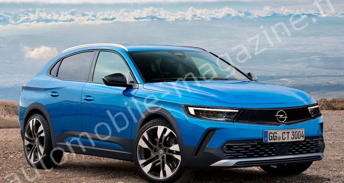 Future Opel Astra Cross : les Peugeot 308 Cross et Citroën C4 auront une rivale