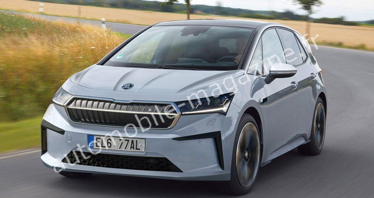 Skoda aura sa Volkswagen ID.3 en 2024