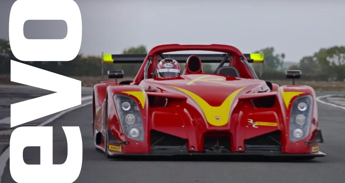 Radical RXC Spyder onboard   evo Track Car of the Year