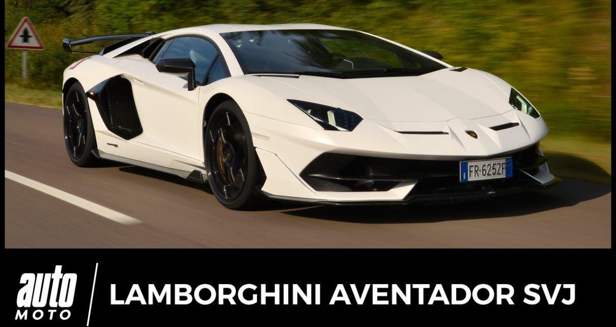 Essai Lamborghini Aventador SVJ : 36 15 supercar