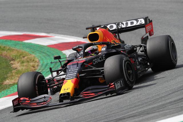 Max Verstappen (Red Bull) domine la première séance d'essais libres du GP d'Autriche
