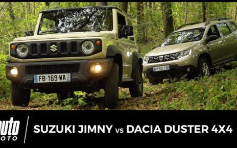Dacia Duster 4x4 vs Suzuki Jimny (2019) : duel au sommet
