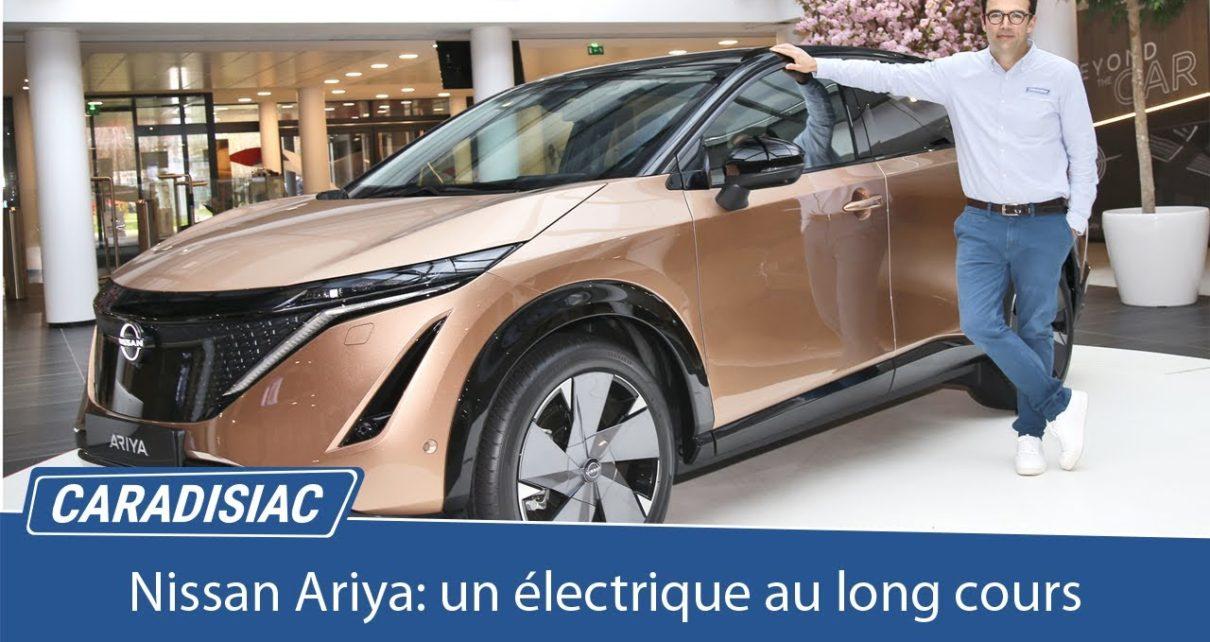Nissan Ariya: un crossover électrique au long cours