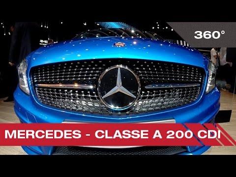 360° Mercedes Classe A 200 CDI - Mondial Auto de Paris 2014
