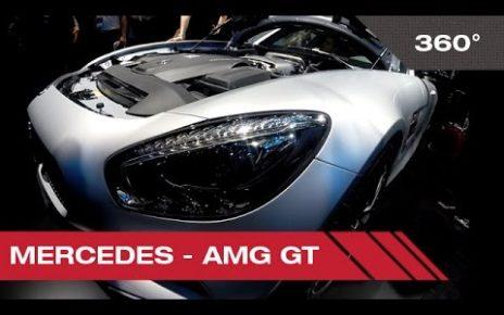 360° Mercedes AMG GT - Mondial Auto de Paris 2014