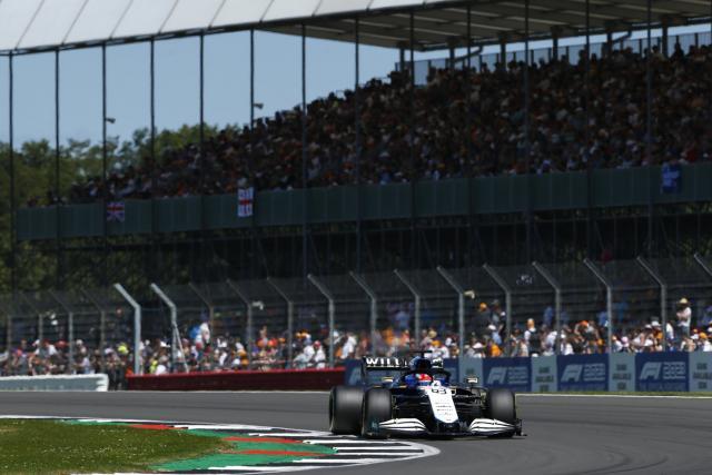 George Russell (Williams) pénalisé de trois places au GP de Grande-Bretagne