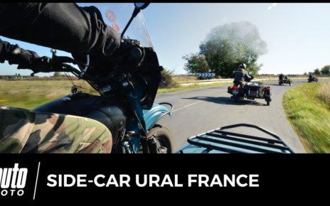 Rencontre side-car Ural France : bienvenue chez les déséquilibrés