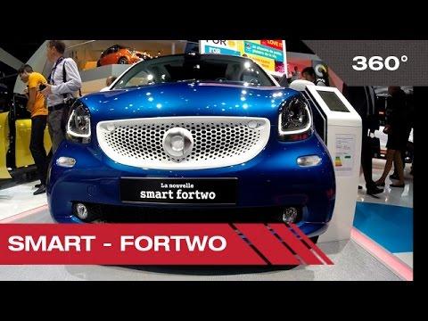 360° Smart Fortwo - Mondial de l'Automobile 2014