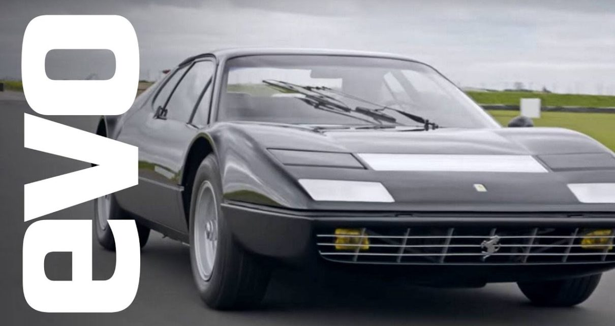 Ferrari 365 GT4 BB driven   evo ICONS
