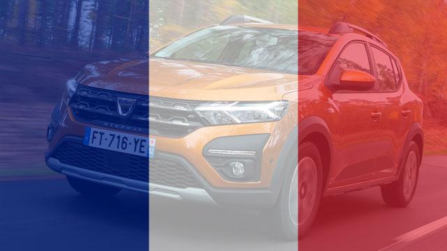 Bilan juin 2021 : France, Sandero superstar