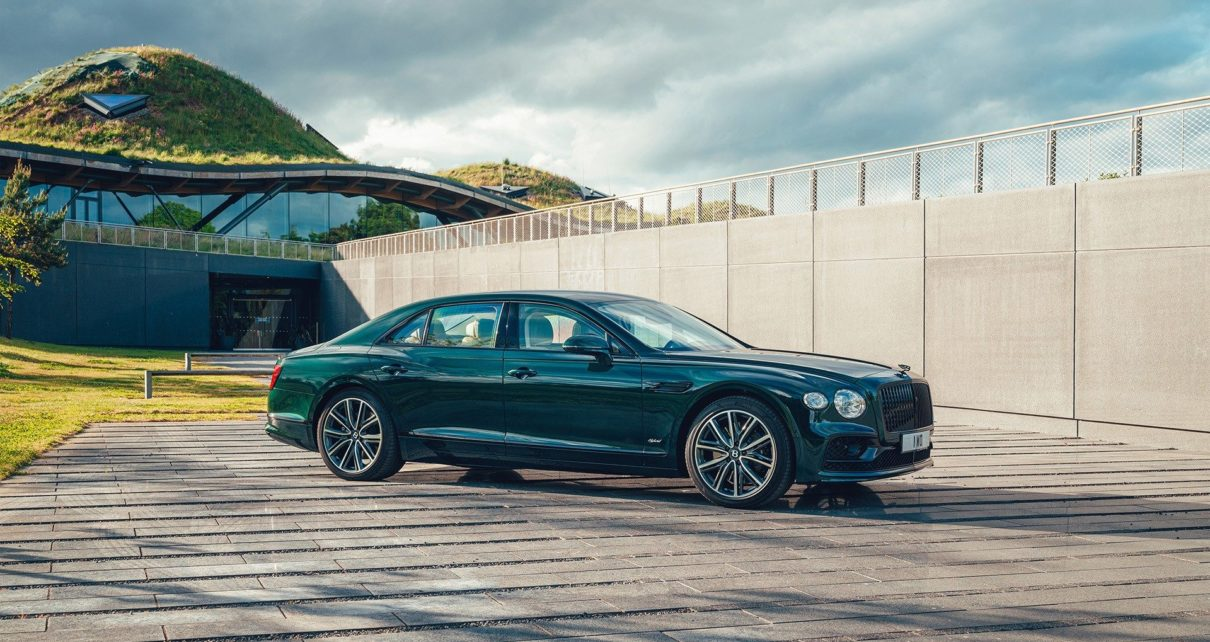 La Bentley Flying Spur passe à l'hybride