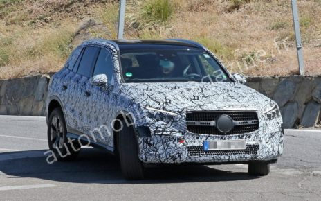 Le prochain SUV Mercedes GLC (2022) se montre davantage