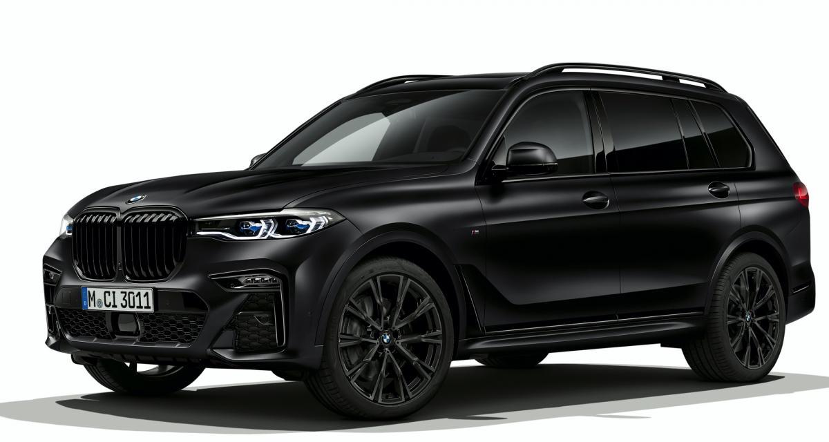le grand SUV s'offre une sombre série limitée