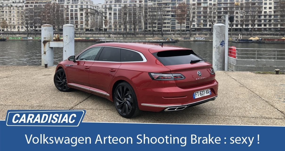 Essai - Volkswagen Arteon Shooting Brake 2020 : l'élégance a un prix, 600 €