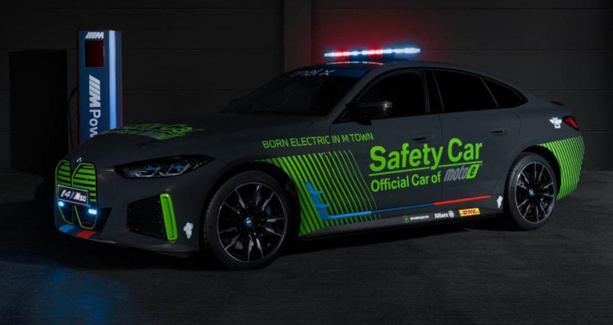 BMW i4 M50 : la nouvelle safety-car du championnat du monde de MotoE