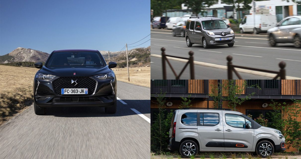Bilan qualité/fiabilité voitures françaises : DS 3 Crossback, Renault Kangoo II, Citroën Berlingo et Peugeot Rifter
