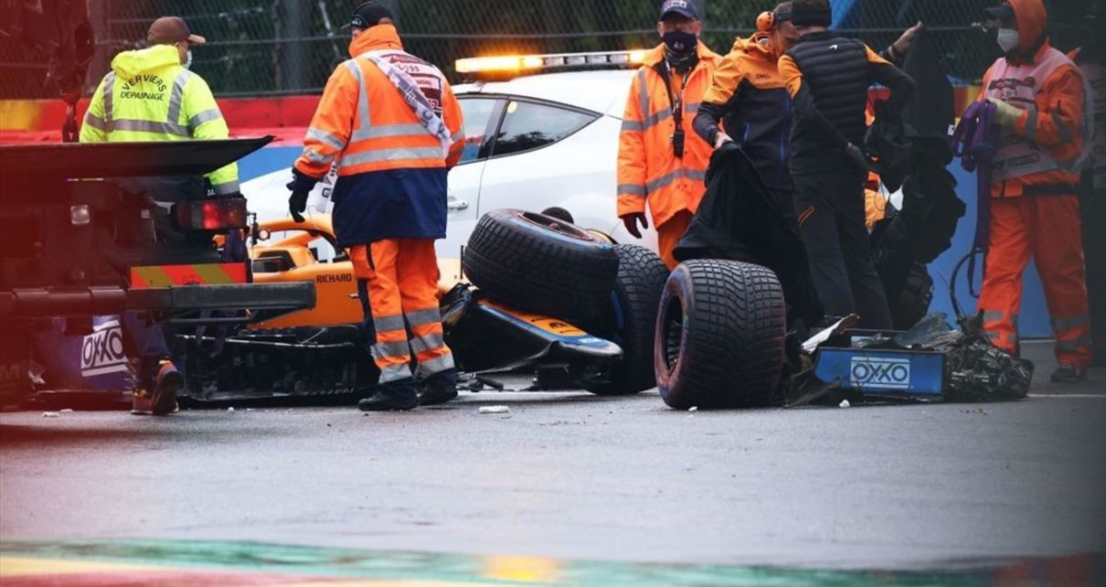 Grand Prix de Belgique - Lando Norris (McLaren) écope de cinq places de pénalité après son spectaculaire crash