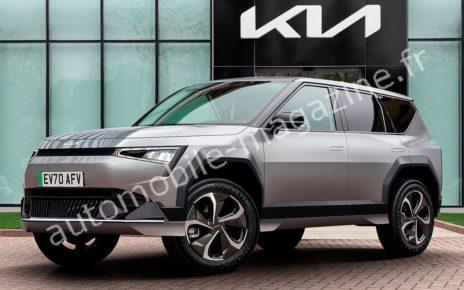 Kia EV7 : première image du futur grand SUV électrique