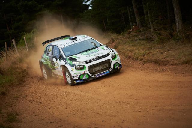 Championnat de France: Mathieu Franceschi remporte le rallye Terre de Lozère