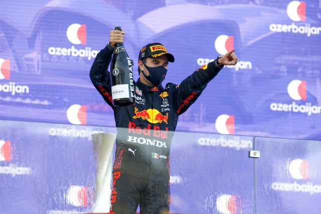 Sergio Perez prolongé par Red Bull en 2022