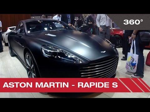 360° Aston Martin - Rapide S - Mondial Auto de Paris 2014