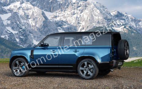 Nouveau Land Rover Defender 130 : découvrez la première image