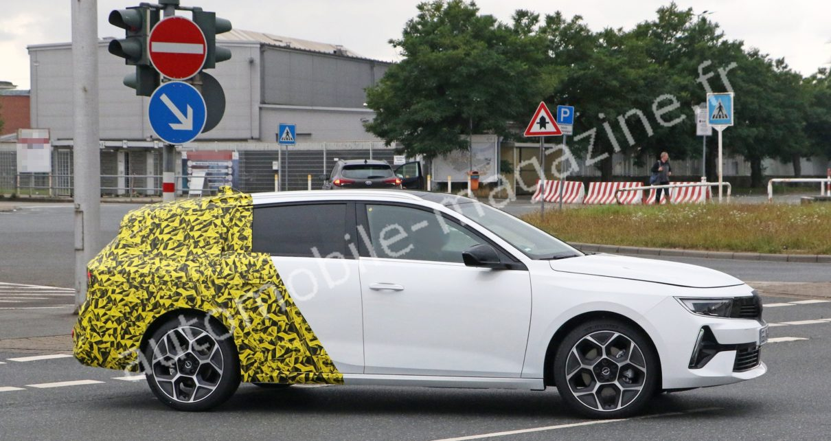Nouvelle Opel Astra break : déjà dans la rue !